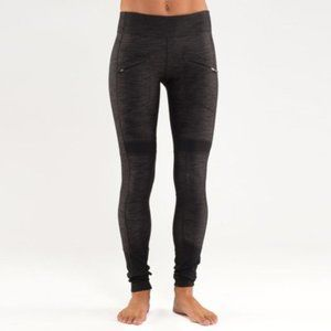 Lululemon Work It Out Pant Black Sub Denim / Black